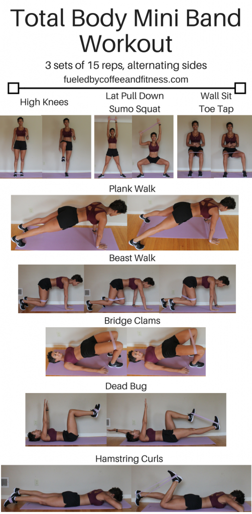 total body mini band workout