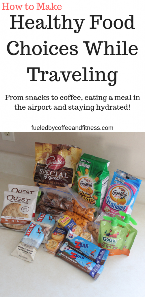Healthy Food Choices While Traveling
