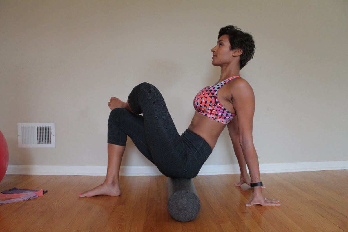 Outer hip Foam Roller