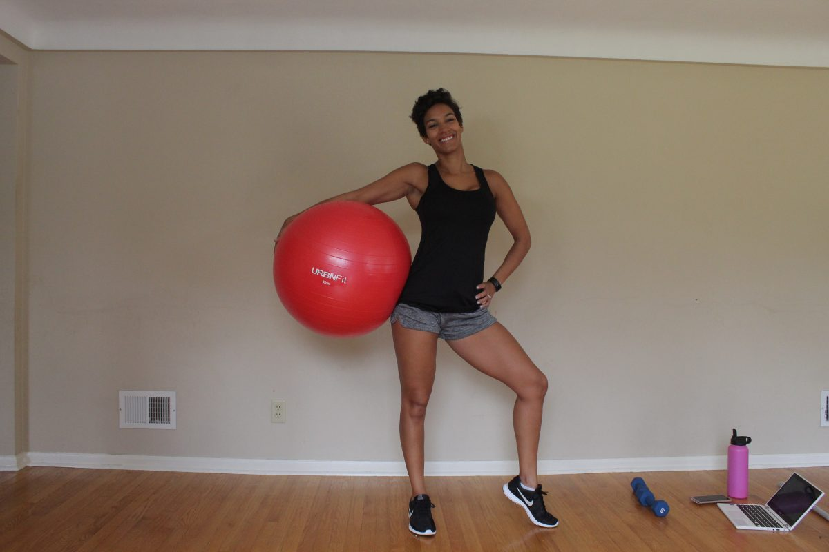 Full Body Stability Ball Workout